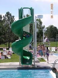 Some Swimming Pool Slides To Choose From