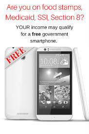CLICK the picture to apply for your FREE government smartphone NO