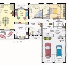 plan maison 4 chambres etage plan de maison avec etage 3 chambres gratuit 14 bioclimatique 1