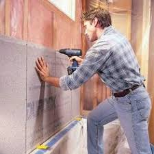 learn how to tile a bathroom wall with the detailed step by step