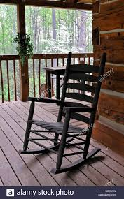 Beautiful Log Cabin Chairs Wood Rocking And Rooms Pads ...