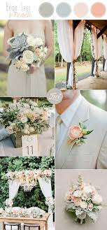 10 Stunning Neutral Flower Bouquets Inspired Wedding Color Palette Ideas