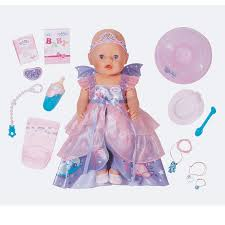 New Zapf Creations Baby Born Interactive Happy Birthday Girl Doll