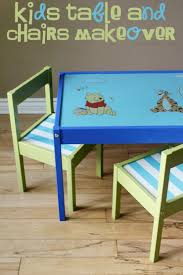 Kids Table And Chairs Makeover - Frugal Mom Eh! Ikea Mammut Kids Table And Chairs Mammut 2 Sells For 35 Origin Kritter Kids Table Chairs Fniture Tables Two High Quality Childrens Your Pixy Home 18 Diy Latt And Hacks Shelterness Set Of Sticker Designs Ikea Hackery Ikea