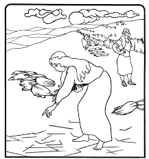 Ruth And Boaz Coloring Pages Free