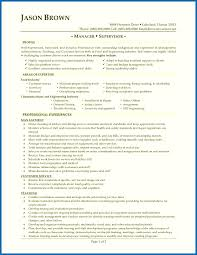 Objective For Resume Restaurant Formidable Manager Duties With Objectives Free Supervisor Of