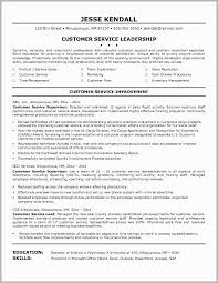 Call Center Supervisor Resume Objective Examples Good Customer Service Skills O