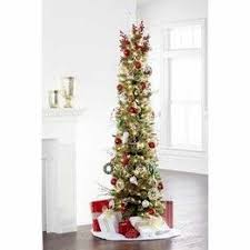 7 Ft Pre Lit Cashmere Pencil Tree
