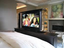 tv lift for bedroom modern schlafzimmer chicago