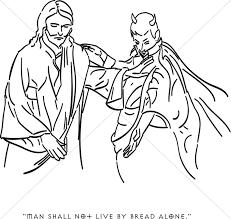 Satan Tempts Jesus With Earthly Riches