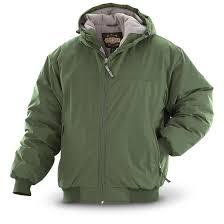 guide gear men u0027s hooded cascade jacket 180416 insulated jackets