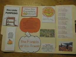 The Pumpkin Patch Parable Pdf by Thy Word Pumpkins Lapbook