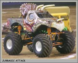 Monster Truck Picture - Jurrasic Attack Monster Truck | MIGHTY ...