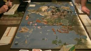 Axis Allies Anniversary Edition Boardgame Time Lapse