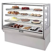Leader HBK48 48 Refrigerated Bakery Display Case