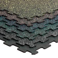 gymfloor bodenbelag puzzleplatte 956 x 956 x 8 mm schwarz