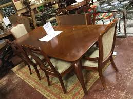 Thomasville Cherry Table 6chairs pads 2leaves