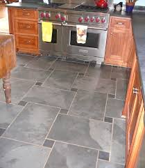 gray slate tile discolored grout lines on slate tile