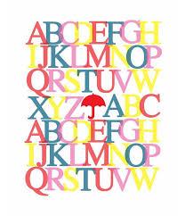 35 Best Printable Alphabet Posters Designs