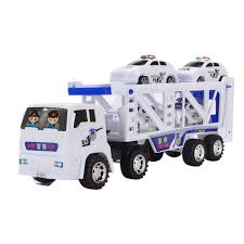 100 Big Truck Toys Amazoncom Hpapadks Large Double Deck Trailer With Four