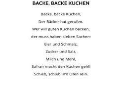 backe backe kuchen lied am leben backe backe kuchen lied