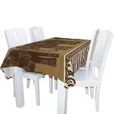 Amazoncom Aluys Boutique Elephants And Zebra Skin Kitchen Printed