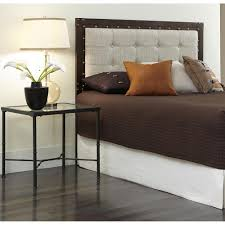 Leggett And Platt Metal Headboards by Fashion Bed Group Cascade Queen Size Headboard With Metal Panel