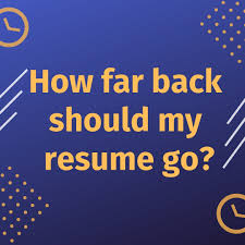How Long Should My Résumé Be? - How Far Back Should Work History Go On A Resume Summary To Format Your For A Modern Job Search Topresume Examples Of Good Rumes That Get Jobs To Sample Customer Service Best Font Your Resume Canva Learn Beyond Career Success Builder Of 20 Cnet Write The Perfect For Any Free Experience Example Descriptions Many Years Madigan Minute 3 This Is In 2019