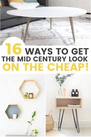 100 Mid Century Design Ideas 16 Affordable DIY Furniture That Will Inspire You