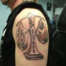 29 The Angel Versus Devil 69 Libra Tattoos