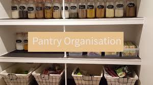 Pantry organization ideas ON A BUDGET