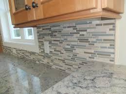 Glass And Stone Mosaic Tile Backsplash