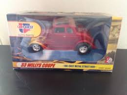 First Gear 1 24 CARQUEST Auto Parts 33 Willys Coupe Diecast Metal ...