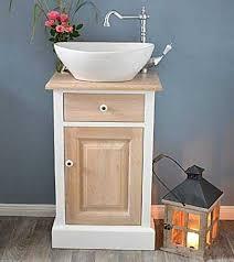 gäste waschtisch bryne badunterschrank klein mit waschbecken