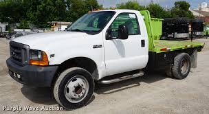 1999 Ford F450 Super Duty Flatbed Truck | Item DD6469 | SOLD...