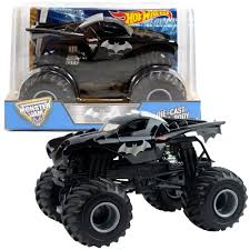 100 Monster Truck Batman Hot Wheels Jam 124 Die Cast Metal Body NEW