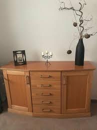 sideboard kommode wohnzimmer teilmassiv holz buche