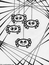 Spider Coloring Page Printable Pages Click The Spiders Animal