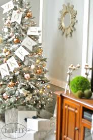 Flocked Christmas Tree 9ft by Diy Flocked Christmas Tree First Home Love Life