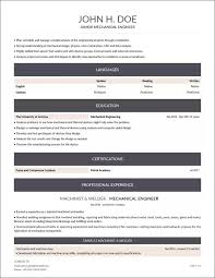 Here Is A Mechanical Engineer Resume Example Made With Resumizeme
