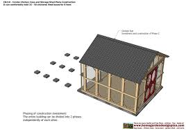 8x8 Storage Shed Plans Free Download by Cb210 Combo Plans Chicken Coop Plans Construction Garden Sheds