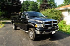 2003 Dodge Ram Black 2500 Hemi Heavy Duty SLT 4x4 Sale