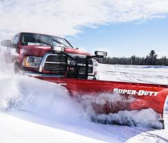 100 Trucks In Snow BOSS Plow Truck Plow Equipment