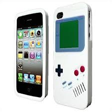 Amazon Le Iphone 4 Gameboy Design Silicone Skin Case By
