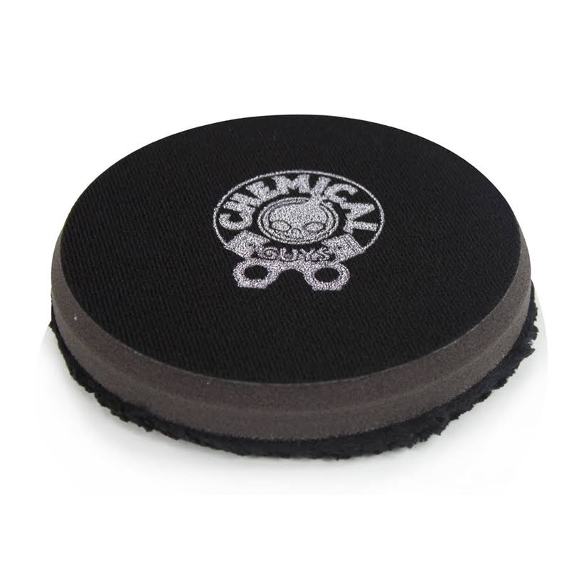 Chemical Guys Microfiber Polishing Pad - Black, 4.5""