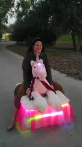 The Chinese In America Riding A Pink Unicorn Not Giving Single