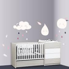 autocollant chambre bébé sticker chambre bébé au meilleur prix sur allobébé