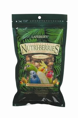 Lafeber Company Gourmet for Cockatiels - Tropical Fruit Nutri-Berries, 10oz