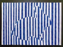 Un Coloriage Très Hypnotique Coloriage Vasarely
