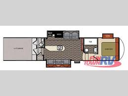 5th Wheel Toy Hauler Floor Plans by New 2014 Forest River Rv Work And Play Catalyst 40wts Toy Hauler
